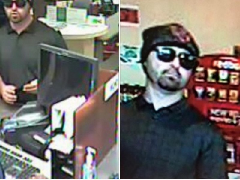 Bearded bank robber wanted for hitting 15 banks throughout for Holiday craft fair napa ca