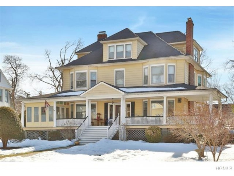 This 3,200-square-foot Queen Anne Colonial is located in an Historic ...