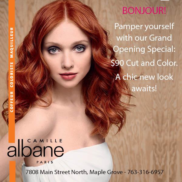 Maple grove mn patch local news community sports - Salon camille albane ...