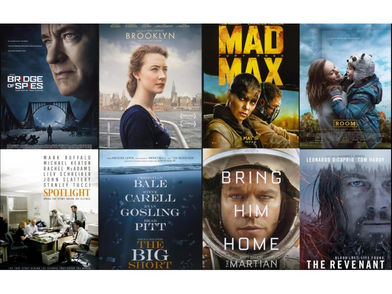 Oscars 2016 best picture nominees with their depiction of for Oscar awards winning movies