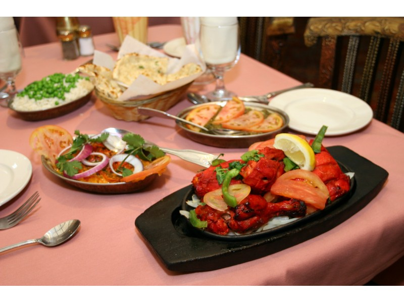 Indian Food Larkspur