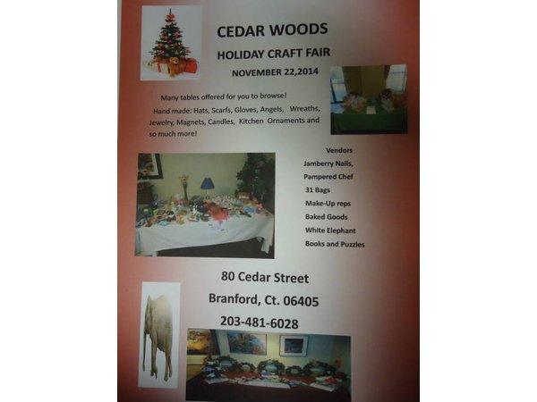 Cedar Woods 3rd Annual Holiday Craft Fair In Branford