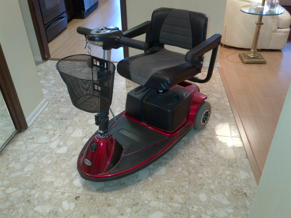 mobility scooter for sale gently used new battery skokie il patch. Black Bedroom Furniture Sets. Home Design Ideas