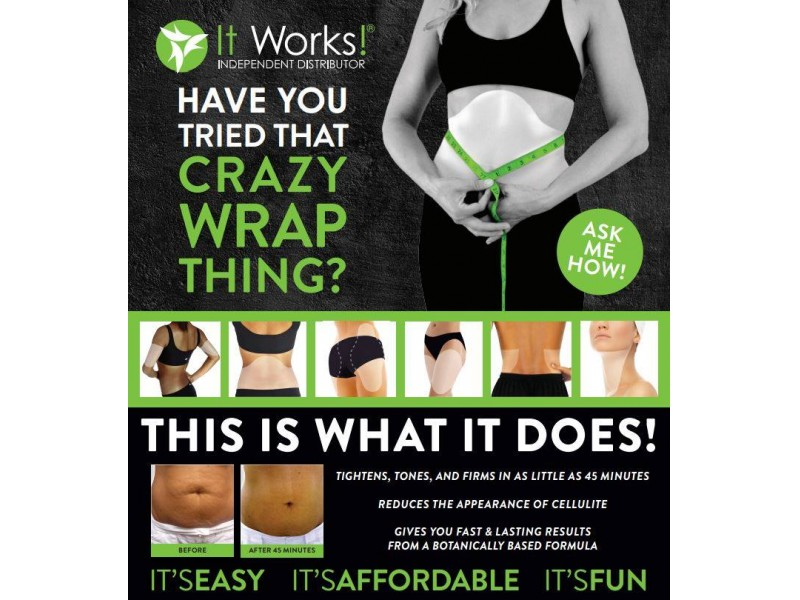 Have you tried that crazy wrap thing chantilly va patch