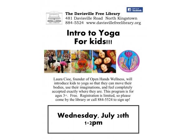 Yoga For Kids Portsmouth Rhode Island