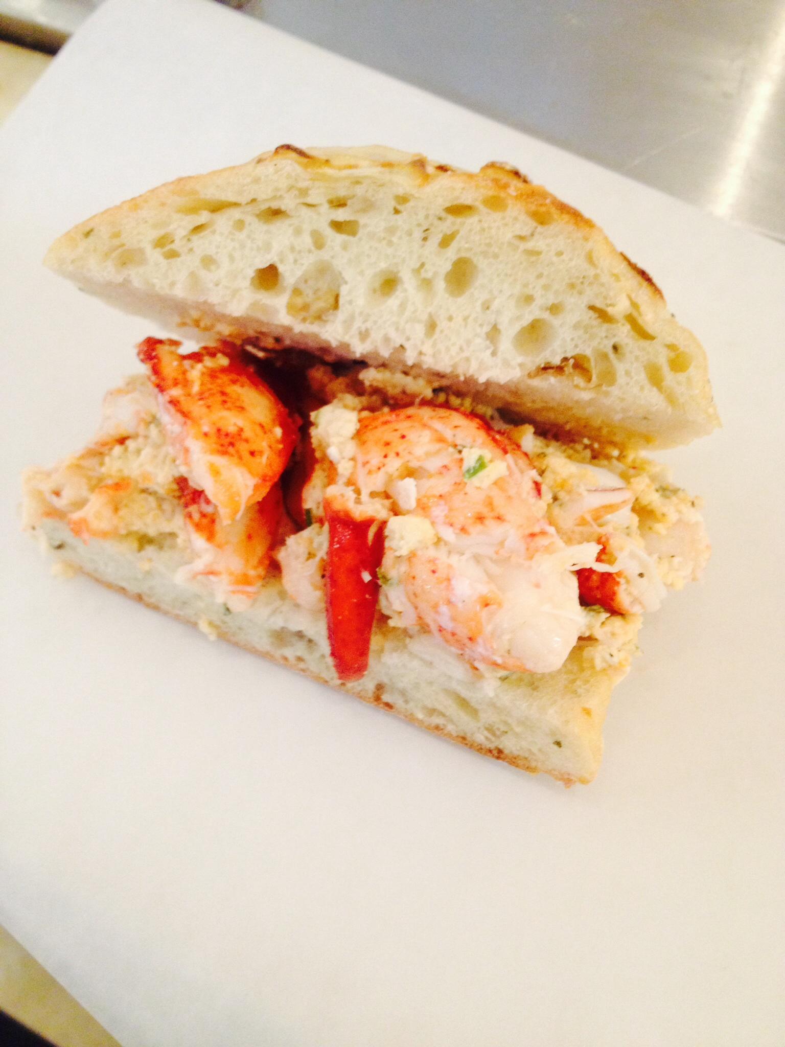 Gourmet Italian Lobster Roll-Napoli Market   Hampton-North ...
