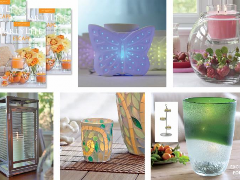New partylite catalog out patch for Partylite dekoration