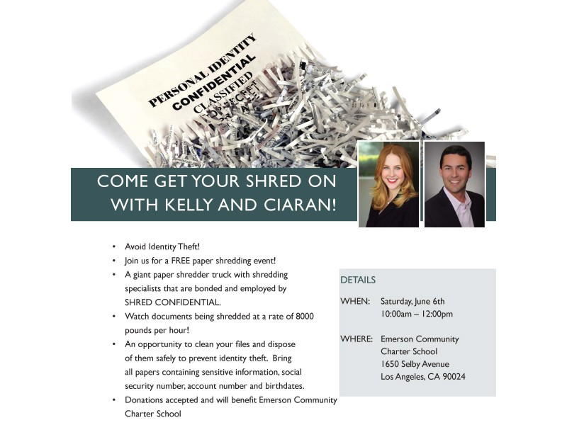 free community paper shredding event westwood ca patch. Black Bedroom Furniture Sets. Home Design Ideas