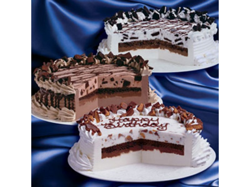 Light Ice Cream Cake