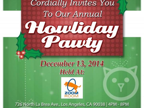 2014 Howliday Pawty Animal Charity Fundraiser West