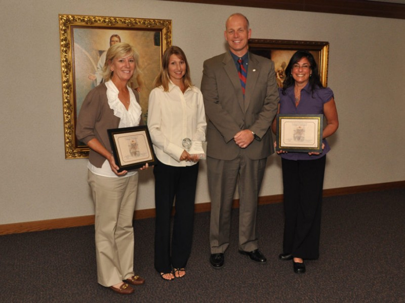Murrieta Teachers Recognized With Crystal Apple Awards Patch