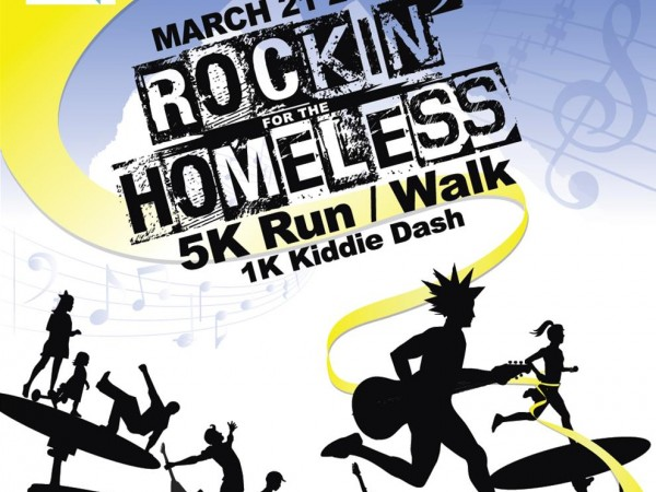 Rockin For The Homeless 5k Run Walk Arcadia Ca Patch