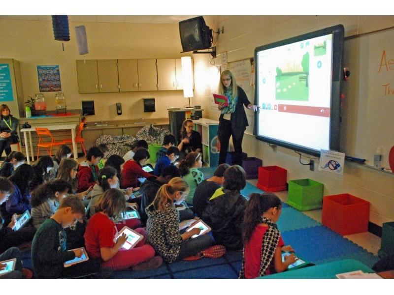 Ipads In Elementary Schools Woodstock Elementary O...