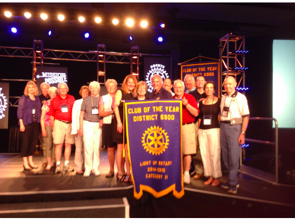 Rotary Club Of Sandy Springs Named Club Of The Year