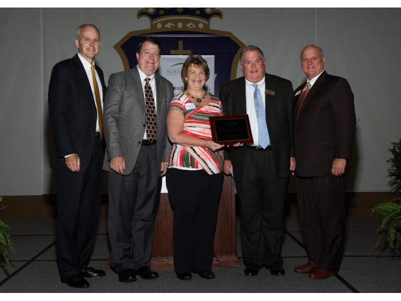 Chamber Awards North Fulton Hospital Partnership In Education Award