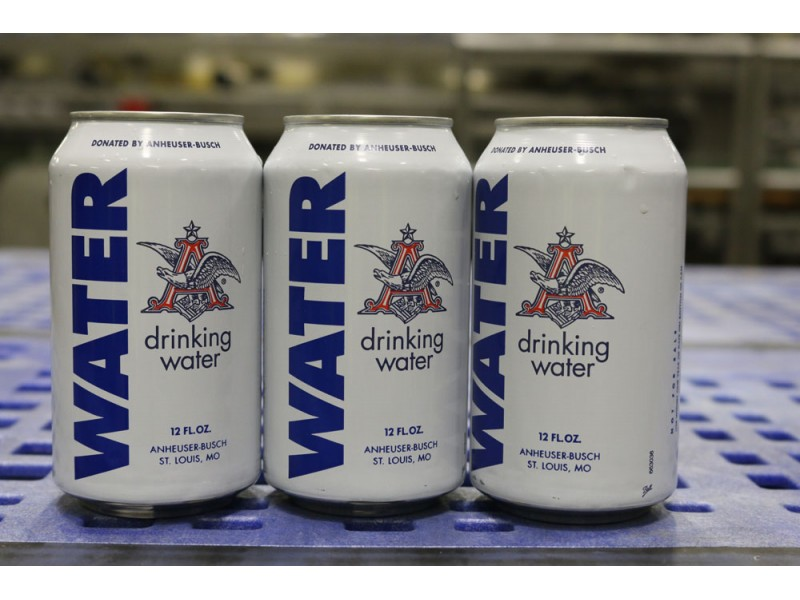 Anheuser-Busch Sends Drinking Water To Louisiana Tornado Victims