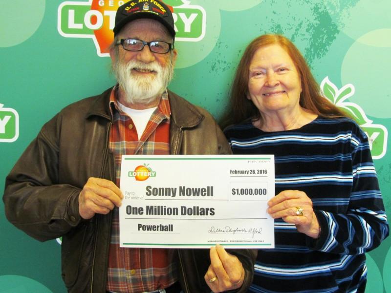 Cartersville Man Claims $1 Million Powerball Prize