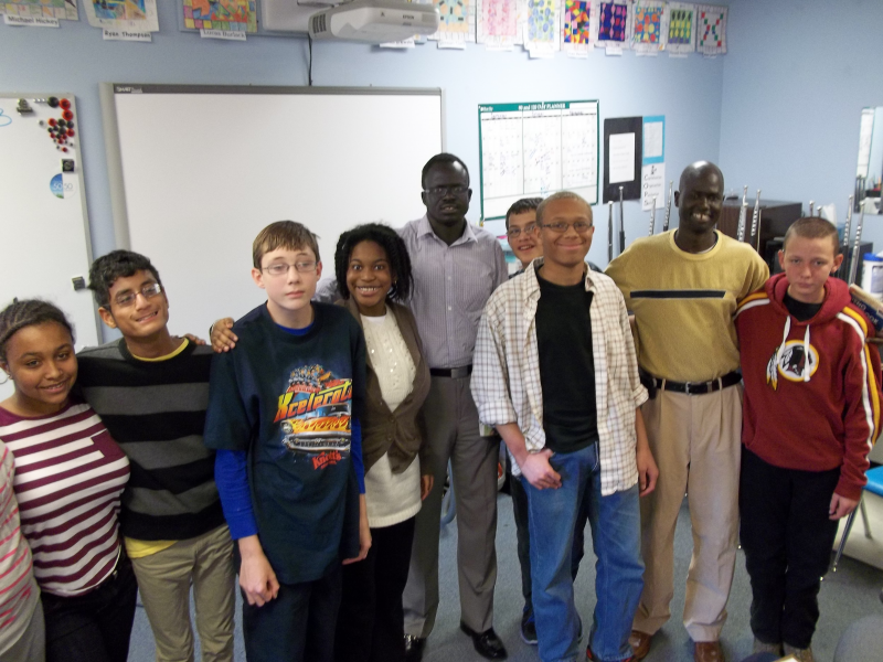 Lost boys of sudan visit the harbour school annapolis md patch