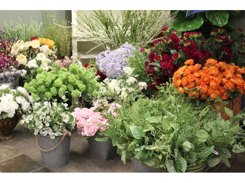 Design your own silk flower arrangement workshop for Design your own flower arrangement