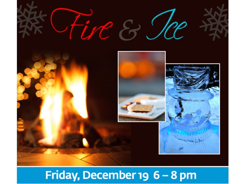 Fire and Ice at Downtown Crown