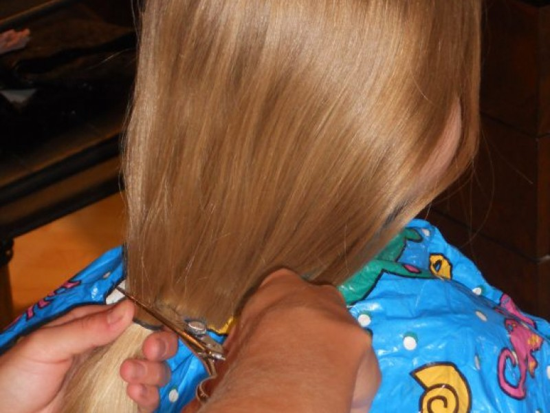 St Michael Family Cuts It Short For Locks Of Love Patch