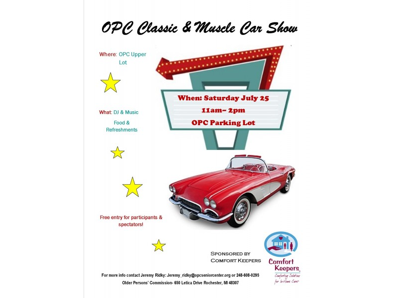 Rochester Auto Museum Classic Muscle Cars: FREE OPC Classic & Muscle Car Show