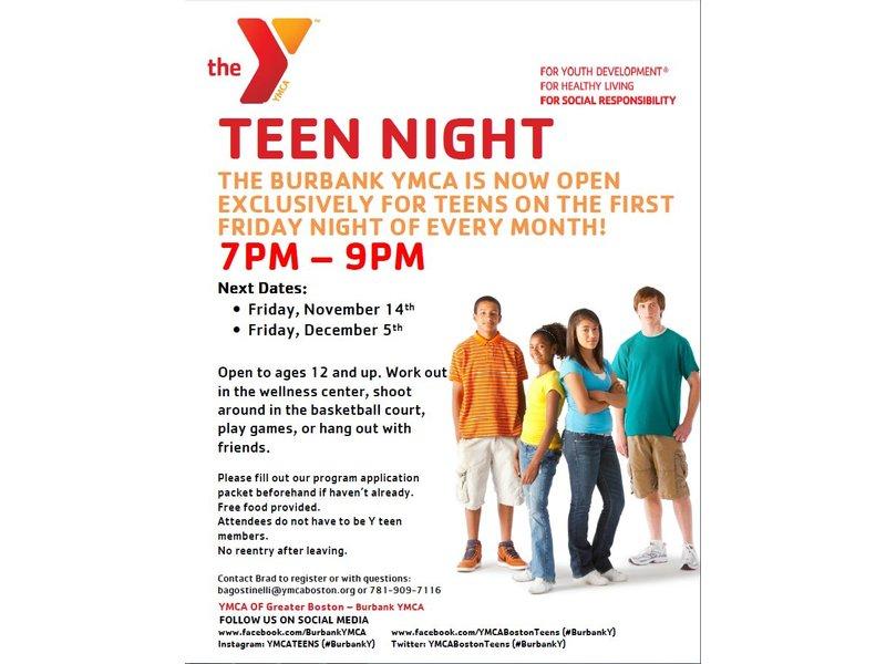 Peabody S Teen Night 106