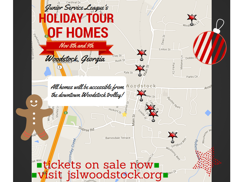 Holiday Tour Of Homes In Woodstock Ga