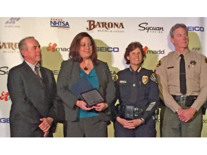 McLeod Named Deputy District Attorney Of The Year For San Diego County San
