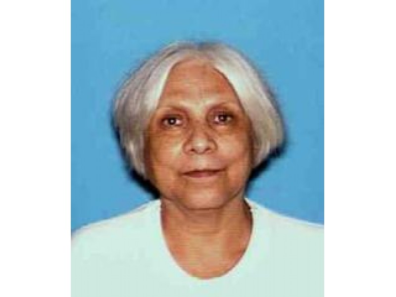 Missing Person Alert In Concord: Woman, 72