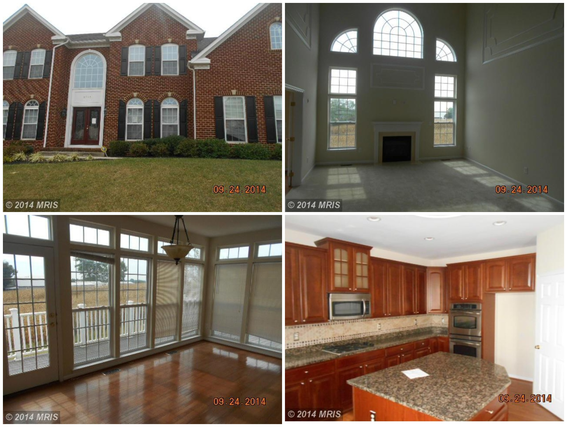 Perry hall home spotlight brick colonial with sunroom Two story sunroom