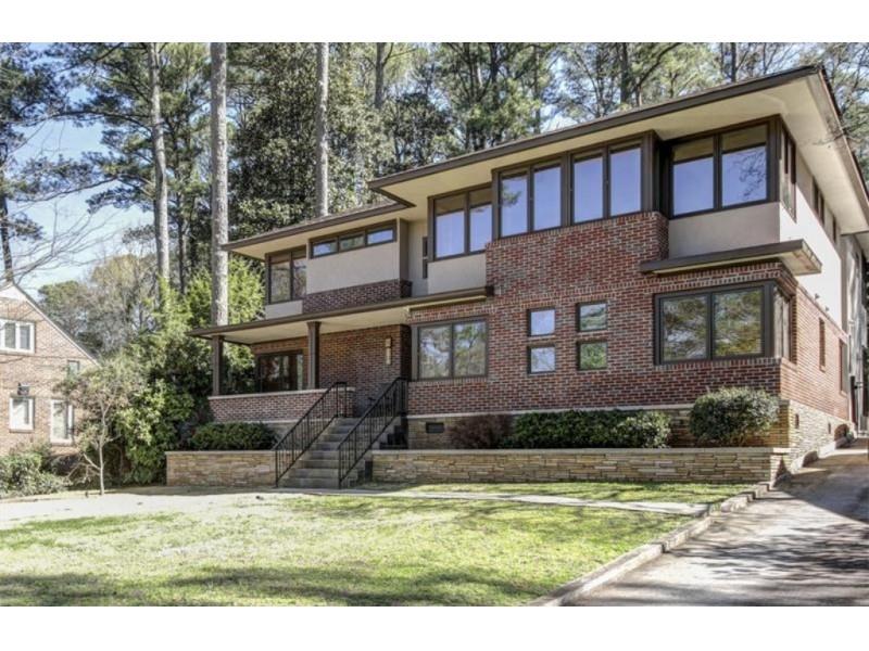 Wow House 985k Buys Frank Lloyd Wright Inspired Prairie