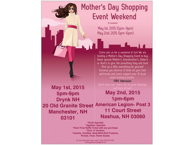 Mother's Day Shopping Event | Patch