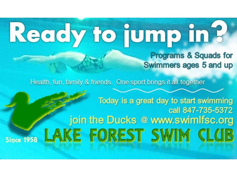 ready to jump in  join the lake forest swim club