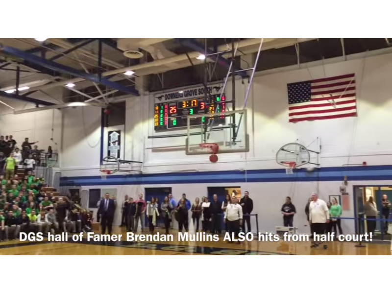 Video: Brothers Sink Half-Court Shots the Night of Their DGS Hall of Fame Induction