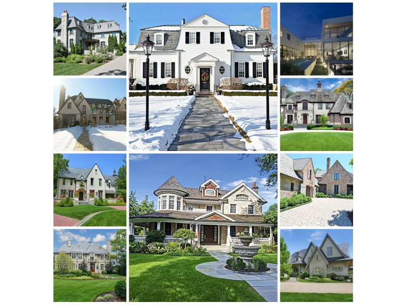 The 10 most expensive homes for sale in hinsdale for Most expensive house in illinois