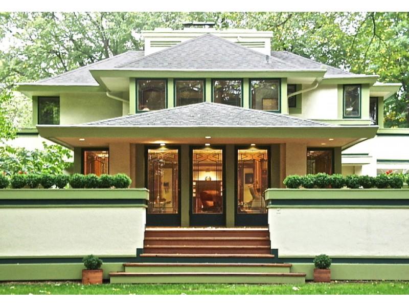 Frank lloyd wright 39 s ingalls house returns to market for for Frank lloyd wright house piani gratuiti