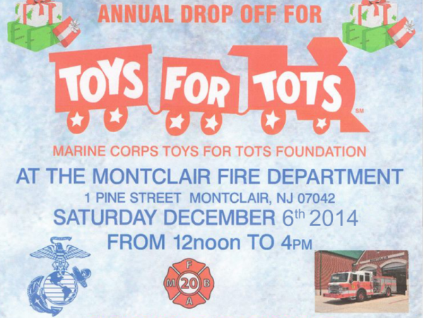 Toys For Tots Charity Event : Annual toys for tots drive montclair nj patch