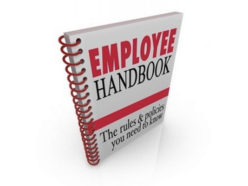 free employees handbook