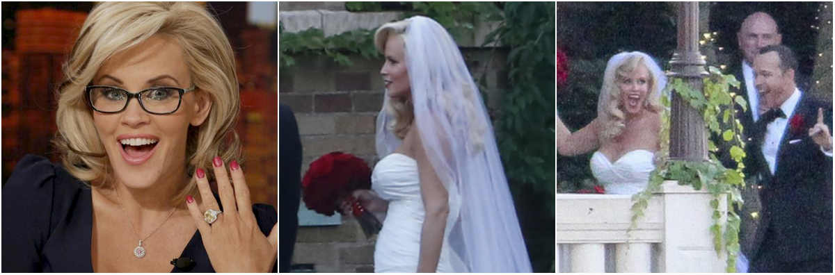 Jenny McCarthy and Donnie Wahlberg Marry in St. Charles on Sunday