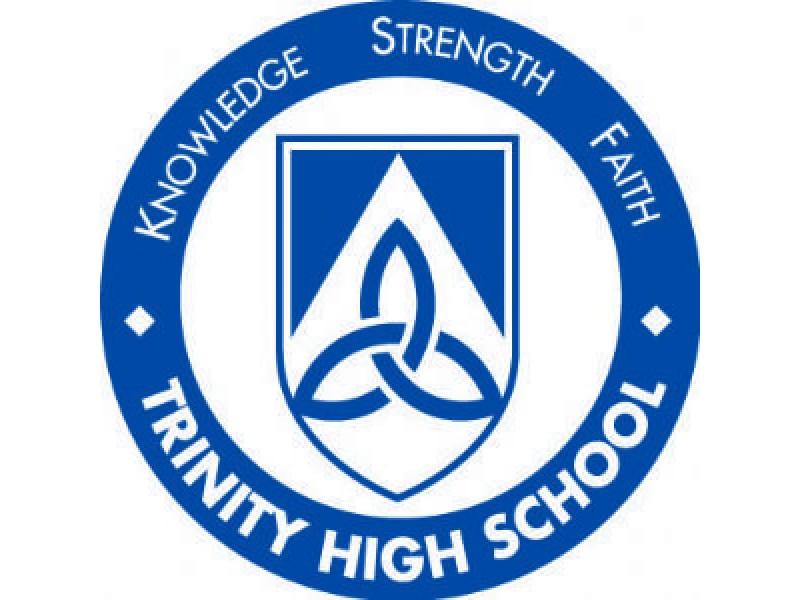 Trinity High School Offers Entrance Exam January 10 2015