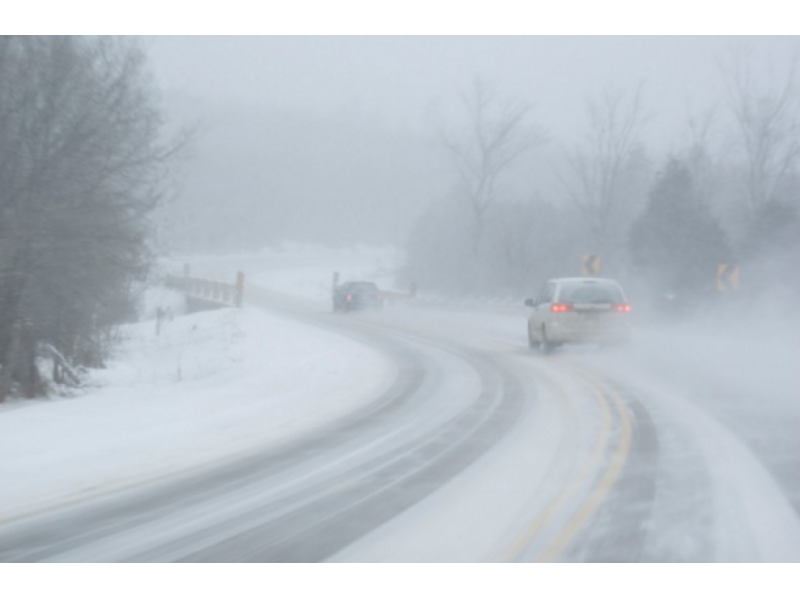 heavy snow  cold  wind and ice cause travel problems