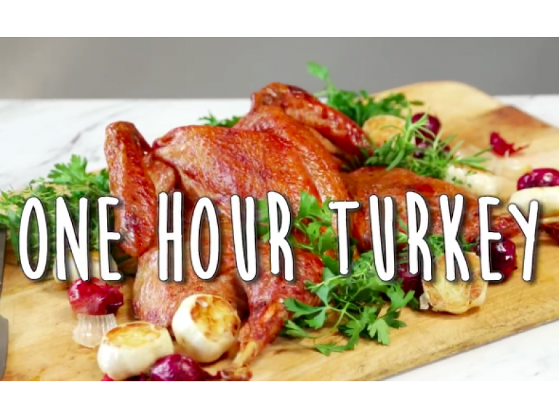 How to cook a 10 pound turkey in just 1 hour patch for How long to cook 11 lb turkey