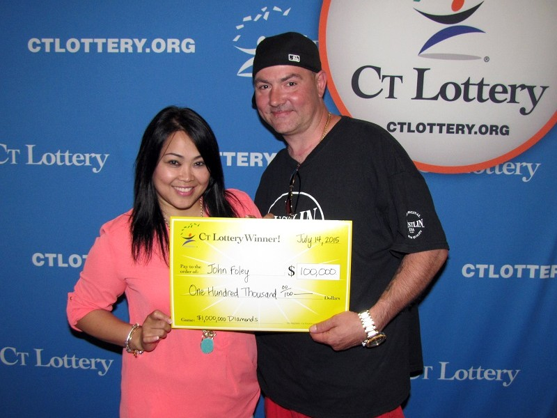 a CT Lottery   1 000 000 $1,000,000 Lottery