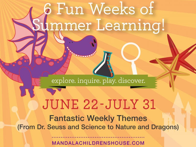 mandala children 39 s house announces summer camp themes