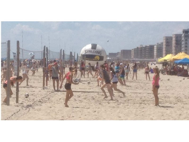 South Florida Beach Volleyball Tournaments