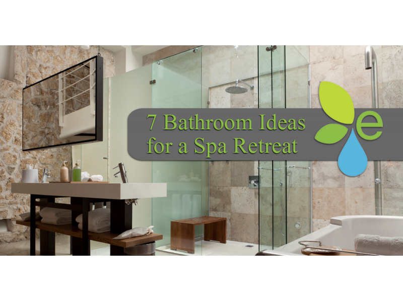 Transform your home into an elegant spa retreat with these for Spa retreat bathroom ideas