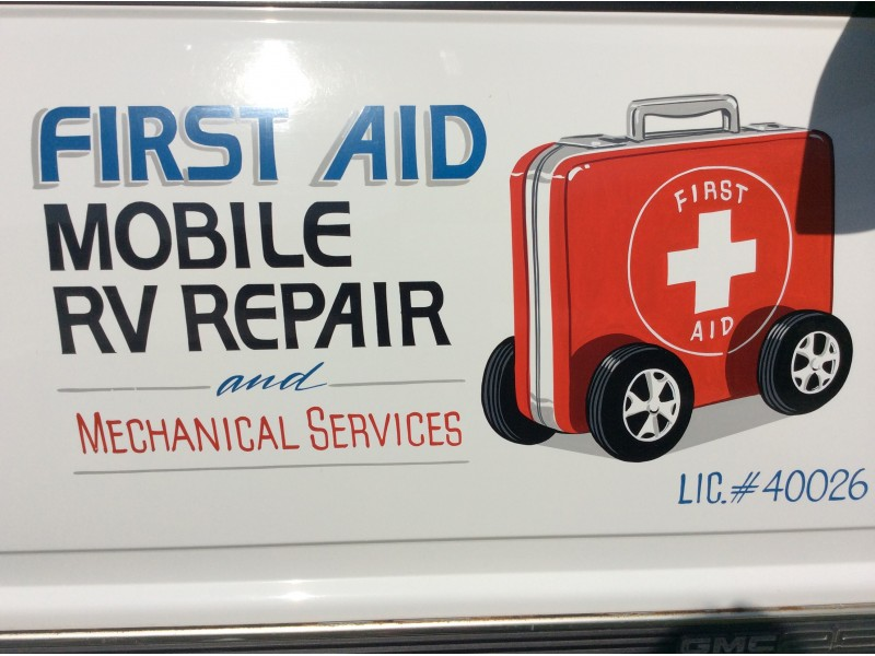 First Aid Mobile Rv Repair Amp Services Temecula Ca Patch