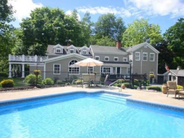 Wow House Serene Setting In Sandy Hook Newtown Ct Patch