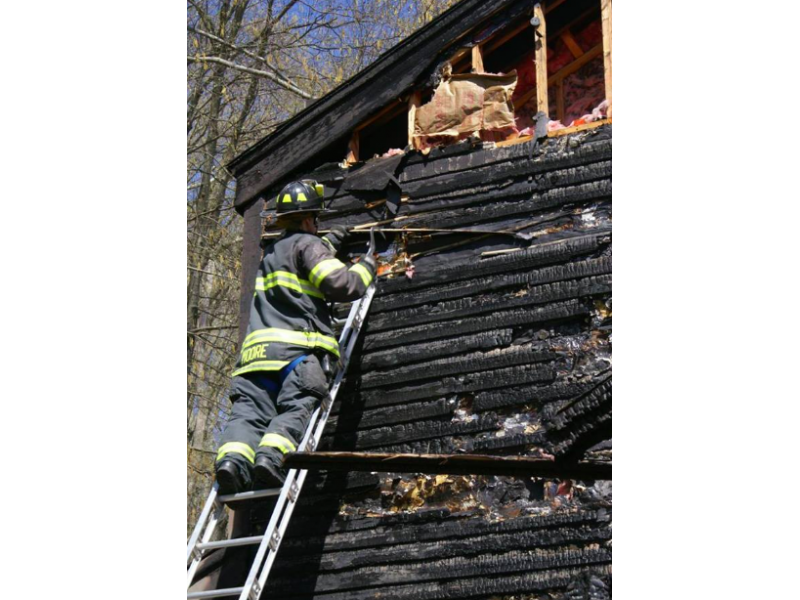 Bethel Stony Hill Fire Departments Battle Blaze That